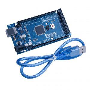 Arduino MEGA 2560 + USB Cable
